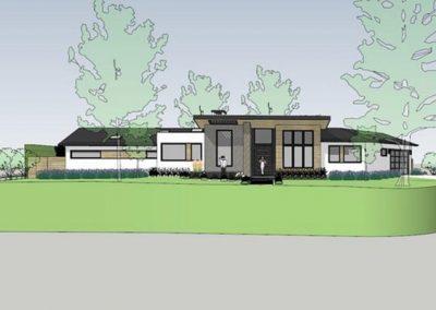 Los Altos Contemporary Ranch Addition/Remodel