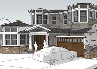 Santa Clara Craftsman Second Story Addition/Remodel