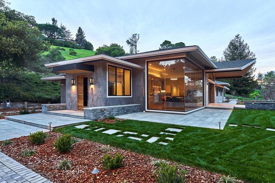Portola Valley Contemporary Ranch | Studio S Squared ...
