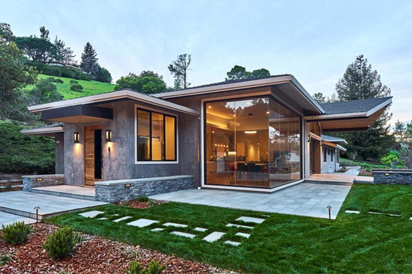 Portola Valley Contemporary Ranch