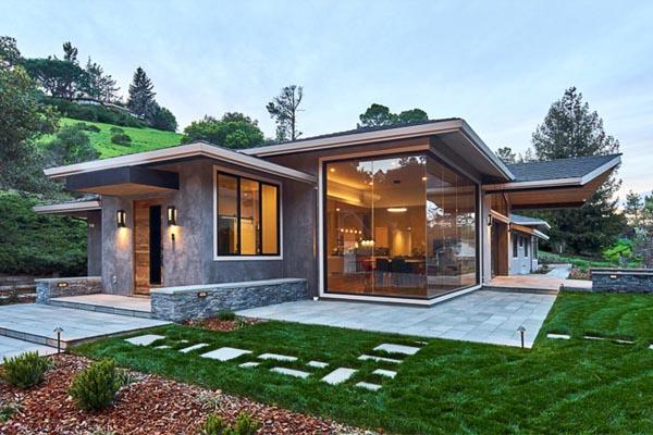 Portola Valley Contemporary Ranch