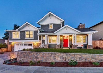 San Carlos Craftsman Split Level Addition