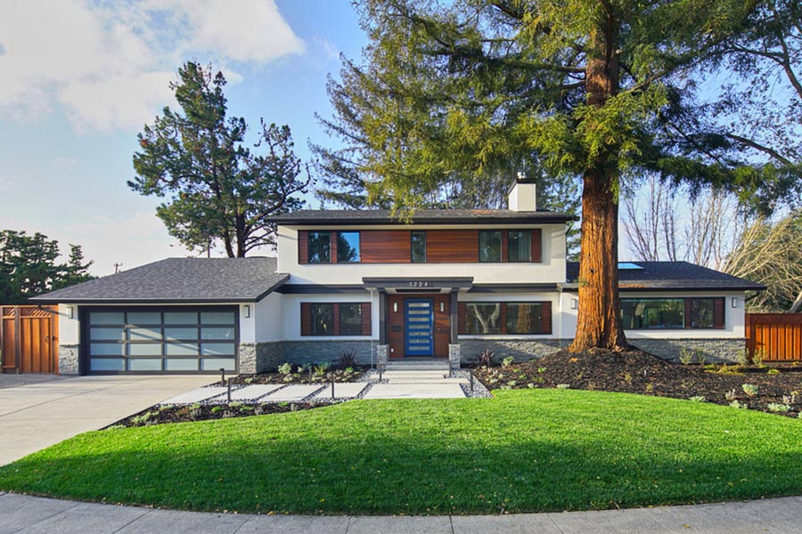 Mountain view contemporary ranch studio s squared - What is a ranch house ...