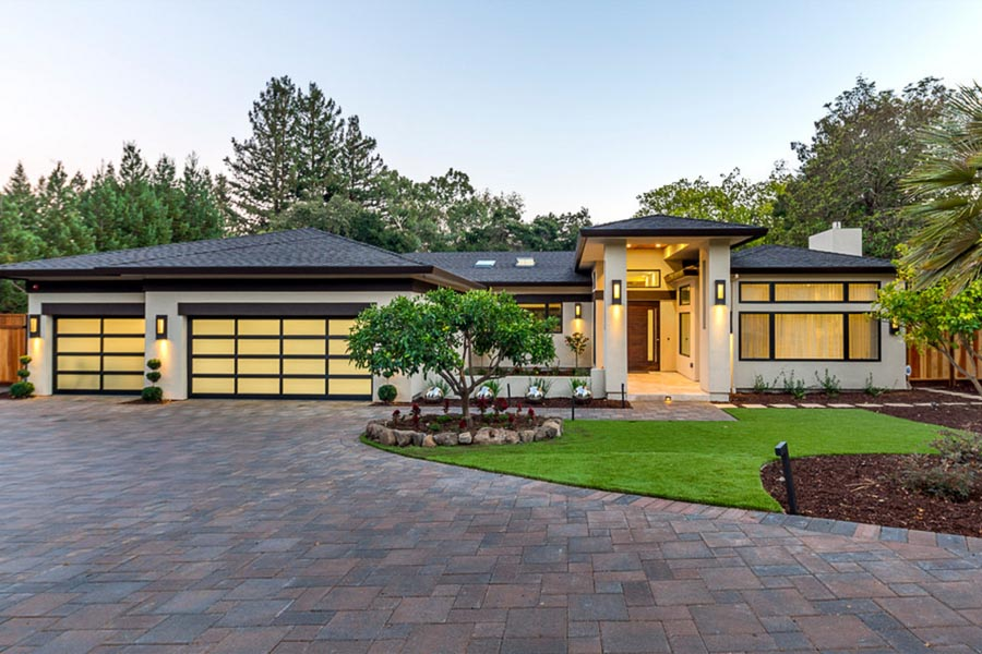 Saratoga Modern Ranch Remodel 01 02 03 04