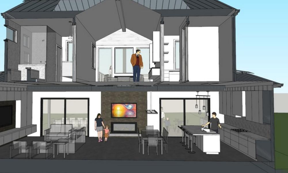 Menlo Park Modern Farmhouse Studio S Squared Architecture