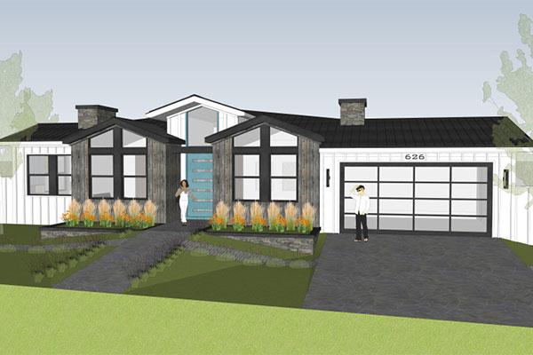 Los Altos Modern Farmhouse II